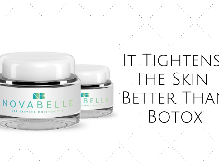 NovaBelle Age Defying Moisturizer: It Tightens The Skin Better Than Botox
