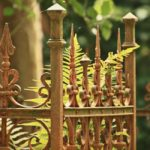 Cemetery, Tomb, Grave, Fence, Metal Fence, Ornament