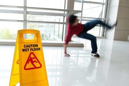Watch out! You're more likely to slip and fall in these places
