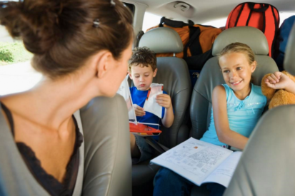 Keep your kids busy during car journeys with these genius ideas