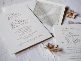 Tips For Creating an Engagement Announcement Card