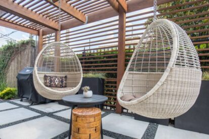 Why a hanging chair is perfect for your family home